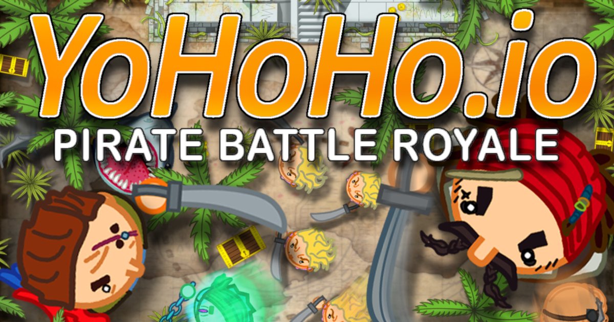 YoHoHo io - pirate battle royale io game